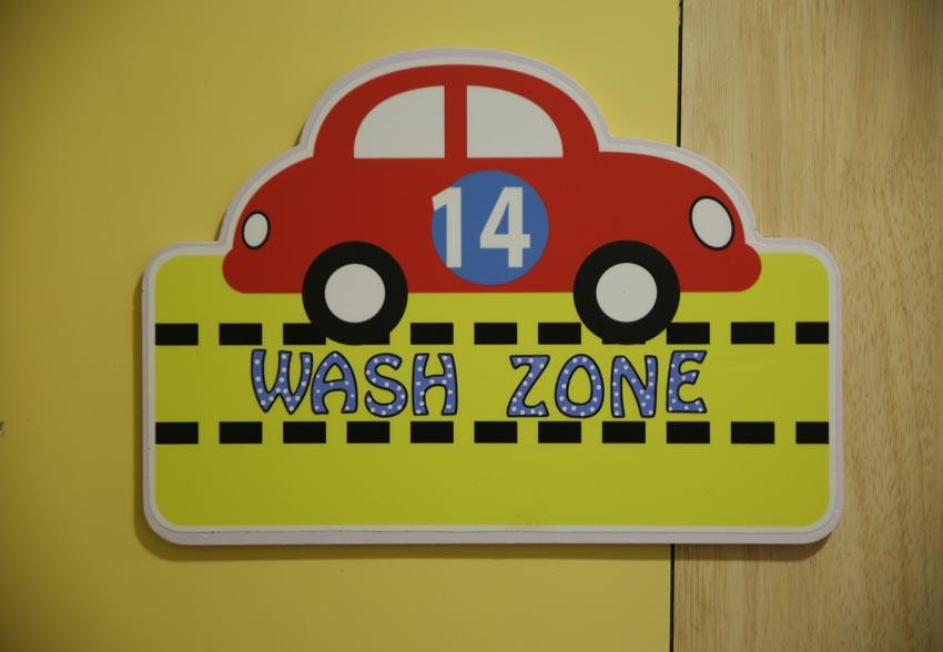 Wash Zone